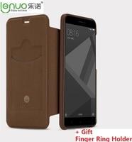 Lenuo Brand Dream Series Gentle Slim PU Leather Case For Xiaomi Redmi Note 4X Slip Cover