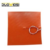 DuoWeiSi 3D Printer Parts 300x300mm 120V 750W Silicone Heater Pad For 3D Printer Heated Bed Heating