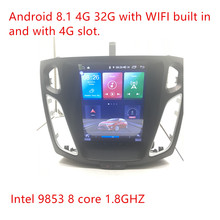ZOYOSKII Android 8,1 10,4 дюймов ips вертикальный экран автомобильный gps Мультимедиа Радио bt навигационный плеер для ford focus salon 2012-2016