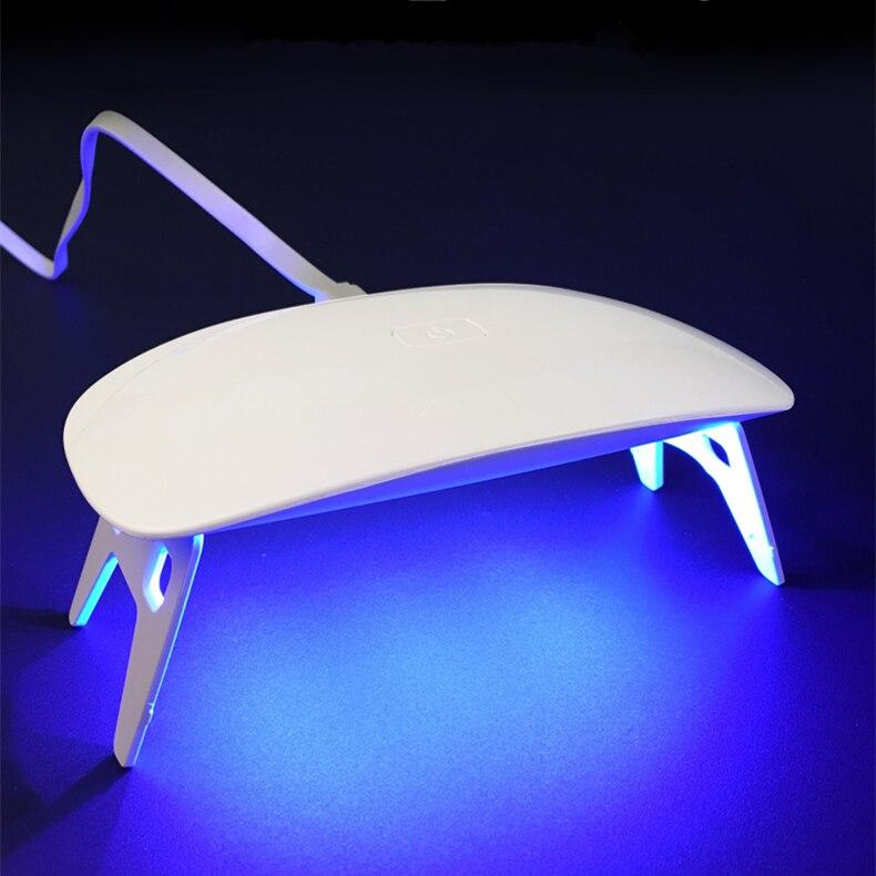 Nageltrockner FleißIg Führte Nagel Licht Therapie Lampe Nagel Maschine Maus Licht Therapie Lampe Uv Licht Therapie Maschine Mini/yuchen