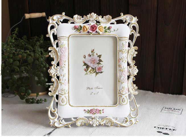 Photo frame fairy tale, 6 inch and 7 inch, European retro wedding photo frame, wedding dress and children photo frame