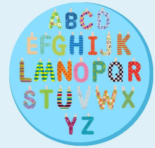Cloth book Fashion Letter Baby Toys Development Books Learning Education alphabet for kids child gift 50