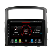 9 IPS Screen Android 9.1 Car Radio Multimedia Player Fit MITSUBISHI PAJERO V97 V93 2006 2011 quad Core PX5 Fast Boot 3G