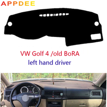 APPDEE Car dashboard covers For VOLKSWAGEN VW GOLF 4 1997-2003 /Old BORA 2006 years left hand drives dashmat pad dash cover
