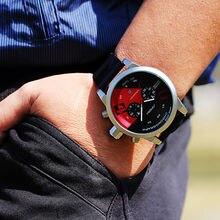 SINOBI Nuevo Fast & Furious Cronógrafo Para Hombre Relojes de Pulsera Deportivo de Goma Correa de reloj de Lujo Marca Hombres Ginebra Reloj de Cuarzo 2017