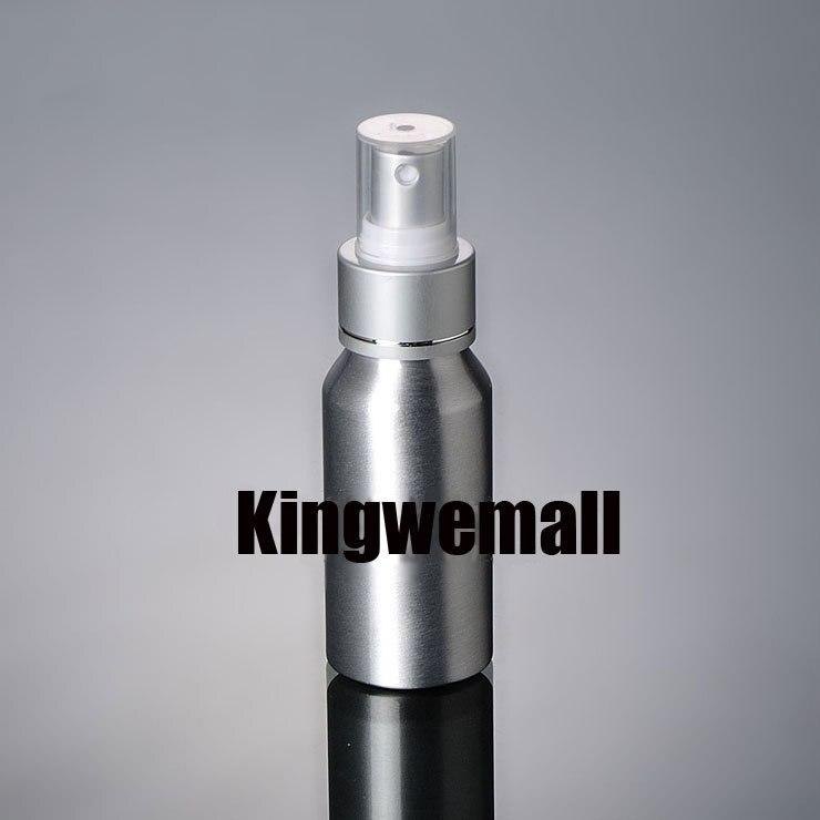 300 шт./лот Ёмкость 50 мл Электрический алюминиевый распылители Бутылочки для упаковки косметики LC23-1