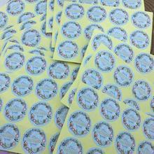 100pcs Personalized LOGO Wedding custom Stickers