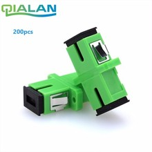 Fiber Optic Adapter SC APC Simplex Single mode Optical Connector SC/APC to SC/ Ftth Flange