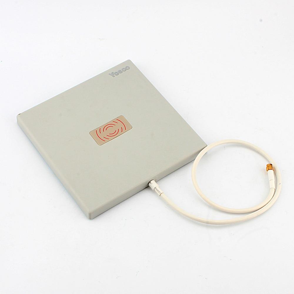 Antenna Panel 2.4Ghz 14 dbi High Gain WiFi Extender Directional Long Range High Quality Aluminum Plastic Antenna & Stand Holder