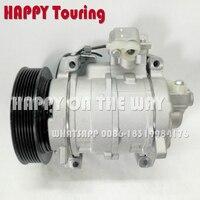 Для ac компрессор Honda Accord L4 2.4L DOHC 2008 2009 2010 2011 2012 447260 6960 4472606960 388010 R40 A01 38810R40A01 10SR15C