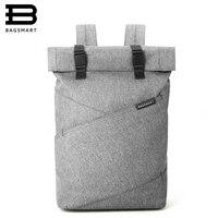 BAGSMART New Men Laptop Backpack 15 6Inch Rucksack School Bag Travel Waterproof Backpack Women Notebook Computer