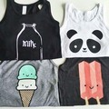 Baby Tops Children Vest Boys Summer T Shirts Girls Tank 2016 Fashion Printed Toddler Tees T-Shirt Clothing