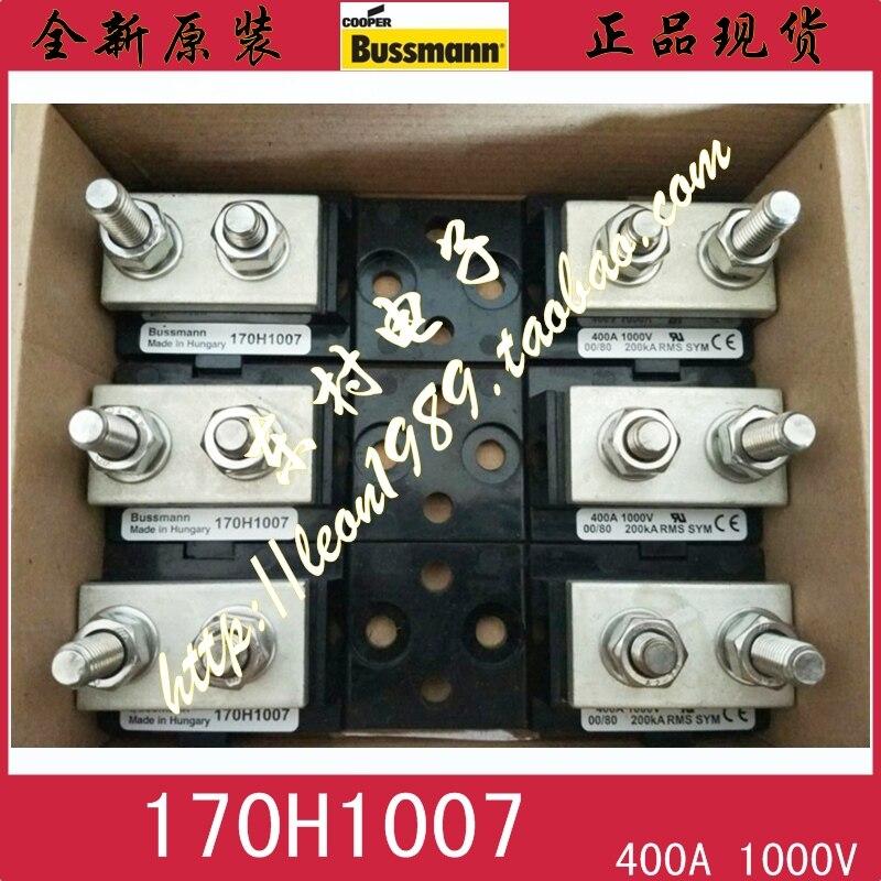 [SA]United States BUSSMANN fuse holder 170H1007 400A 1000V 200ka RMS SYM ремень sym jp150 gr125 xs125t 17