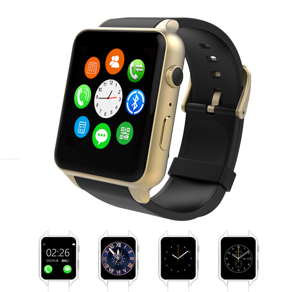 Waterproof Smart font b Watch b font WristWatch GT88 Heart Rate Health Fitness Measure with font