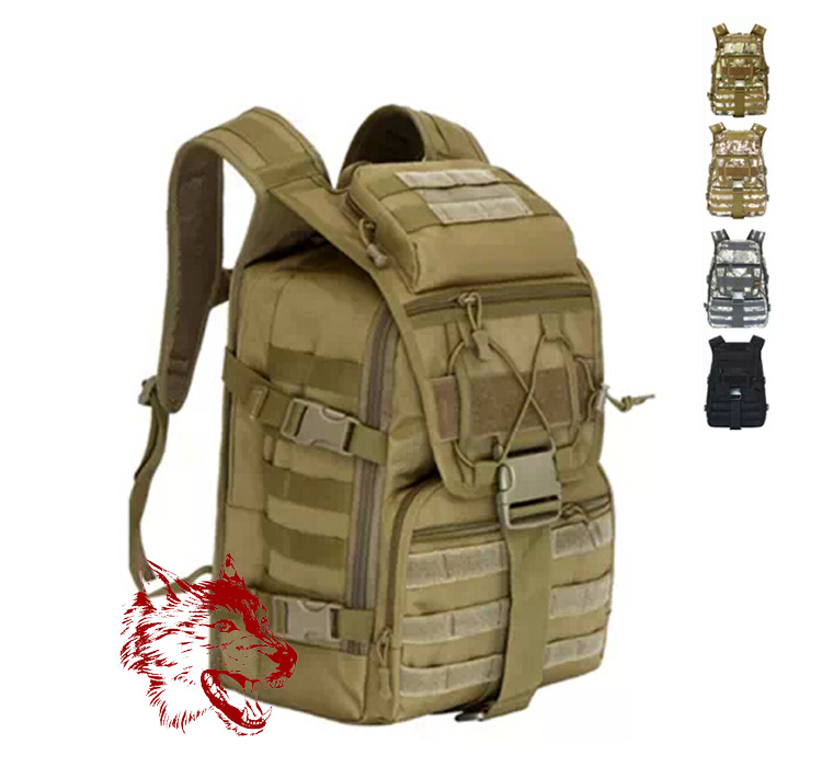 40L Camping Bags Men Outdoor Waterproof Molle Bagpack Military 3P Tad Tactical Backpack Women Big Assault Travel Bag Packsack - The wolves outdoor store