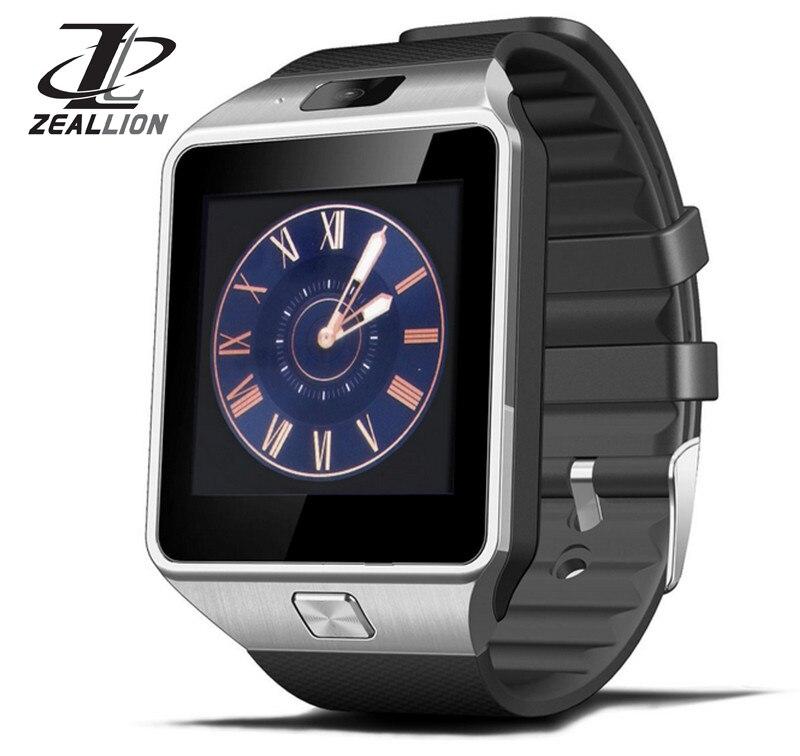 imágenes para Smart watch dz09 reloj de sincronización de notifier tarjeta sim soporte de conectividad bluetooth para iphone android teléfono smartwatch