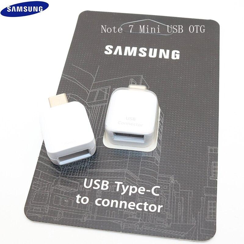 Fuerte Original Samsung Usb Tipo C Usb 3,1 Adaptador De Datos Otg Para Samsung Galaxy S8 S9 Más Note7 8 9 A8 2018 Impulsión De La Pluma/teclado/ratón/u Disco Tecnicas Modernas