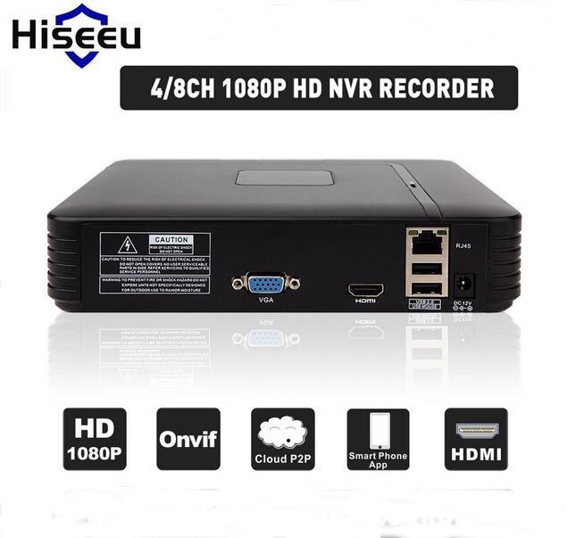 H.264 VGA HDMI 4CH 8CH NVR Mini NVR 1920*1080P ONVIF 2.0 For IP Camera Security System For 1080P Camera Remote view система видеонаблюдения anran security 2 hdd 8 nvr onvif 1080p hd h 264 ir ip 8ch hk02w ip2 0 4
