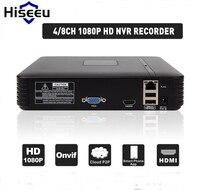 H 264 VGA HDMI 4CH 8CH NVR Mini NVR 1920 1080P ONVIF 2 0 For IP