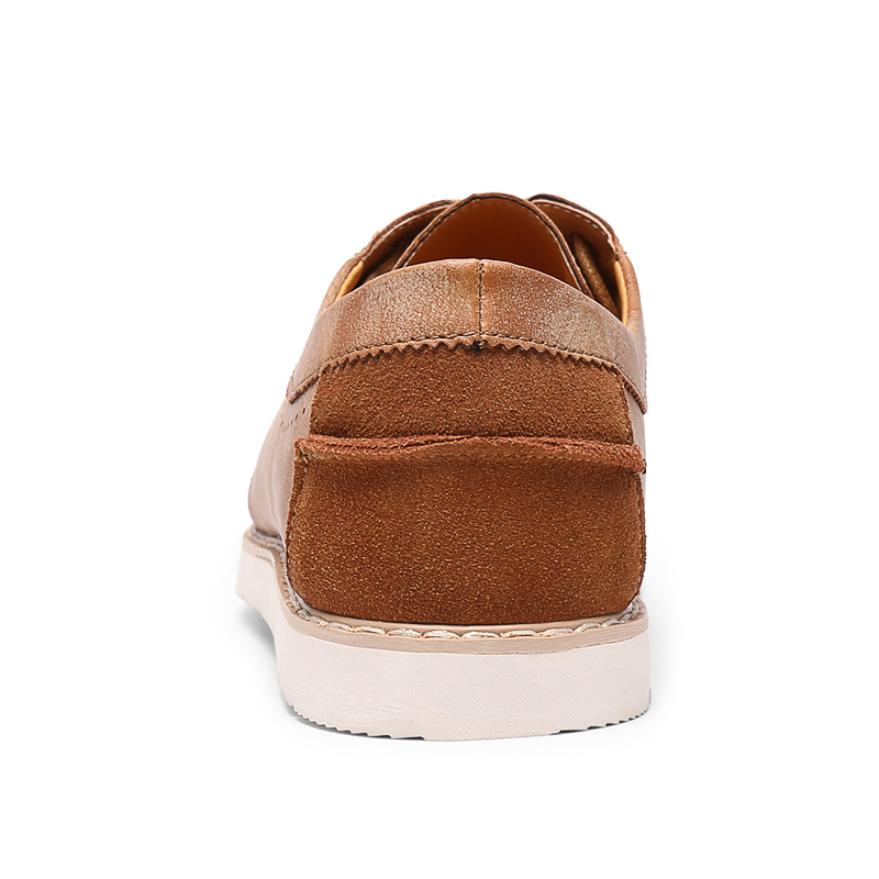 Luxe Pour Homme En Designer Chaussures zong Casual Marque Sneakers Cuir mlv Conduite De Oxford Automne 2018 Hommes Mode Classique Printemps Hei A1qwT8q