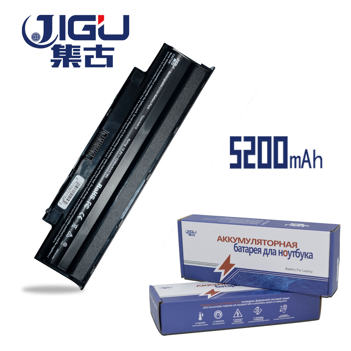 JIGU Laptop Batterie Für Dell Inspiron N7110 M5030 M5040 M501 N4050 N5030 N5040 N5050 N4120 M501R 312-1201 451 -11510 J1knd 3450