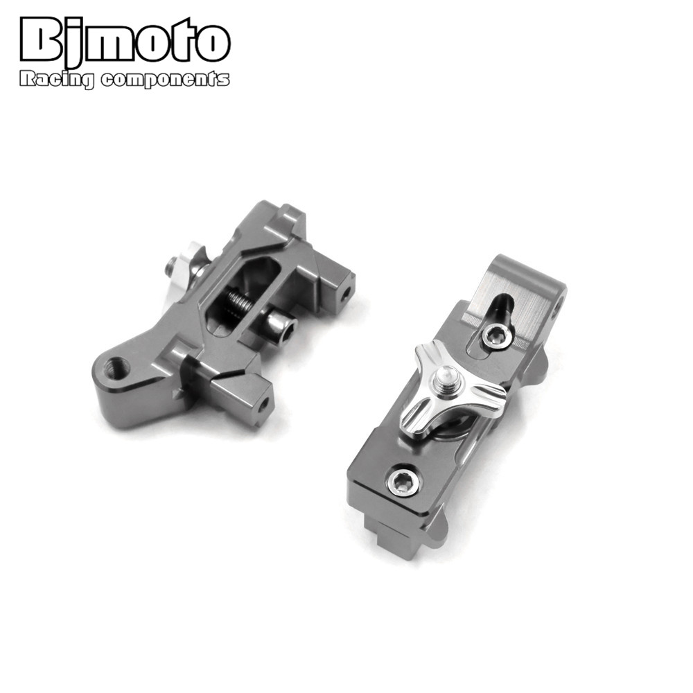CA-YA003 MT07 One Pair Motorcycle CNC Rear Axle Spindle Chain Adjuster Blocks for Yamaha MT-07 2013-2016 FZ-07 2015-2016