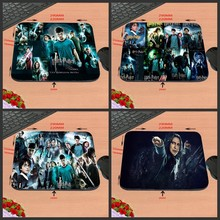 The Movie Harry Potter Rubber Print Mouse Mat Laptop Computer Gaming Mice Pads For Optical Laster Mats 18*22/25*20/29*25*2cm