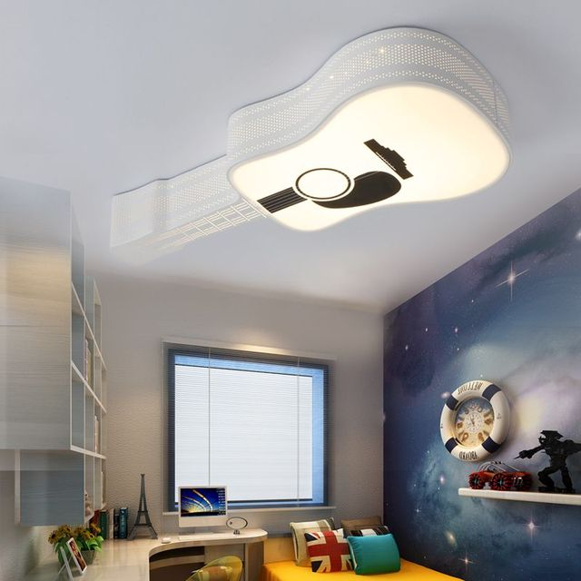 Modern Ceiling Lamps Boys And Girls Cartoon Creative LED Childrens - Childrens lights for bedrooms