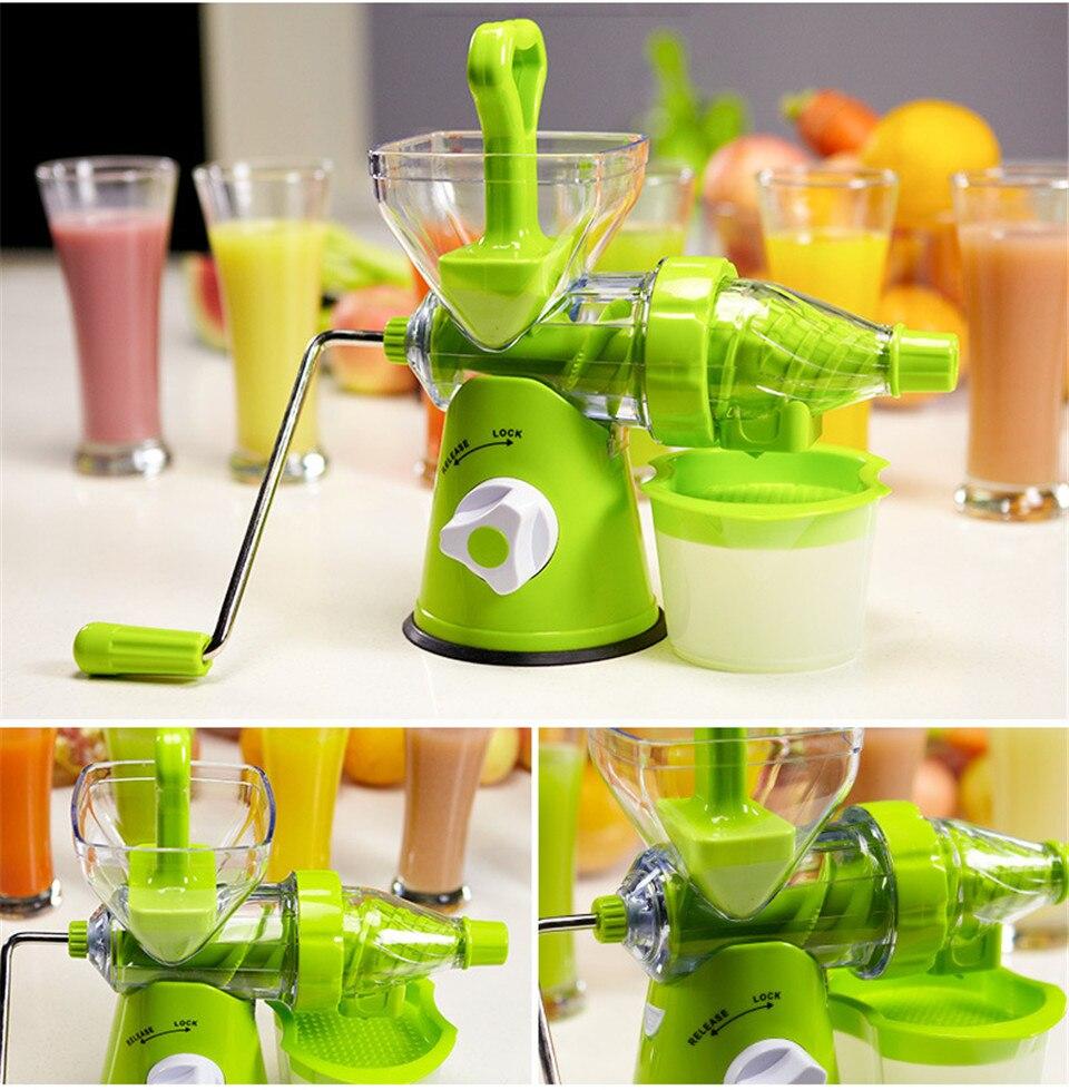 Espremedor de fruta manual