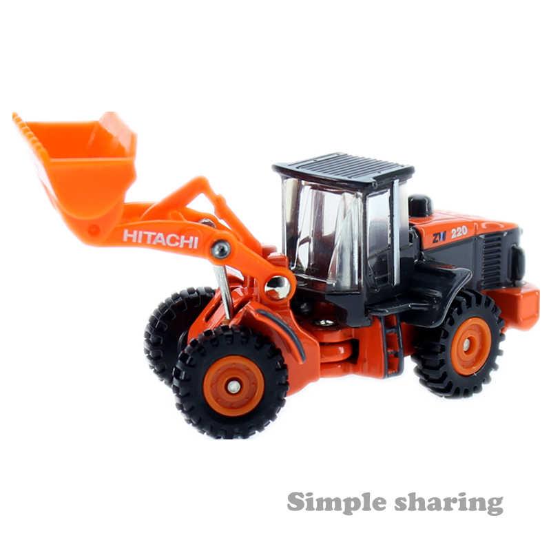 Tomica No 71 Hitachi Construction Machinery Wheel Loader Excavator TAKARA TOMY Mobil Motor Kendaraan Diecast Logam Model Mainan Baru