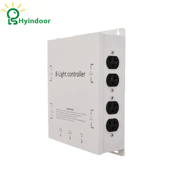 120 V EE. UU. estándar 8 tomacorrientes eléctricos Grow luces controlador Contactor