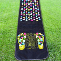 Reflexology Walk Stone Foot Leg Pain Relieve Relief Walk Massager Mat Health Care Acupressure Mat Pad