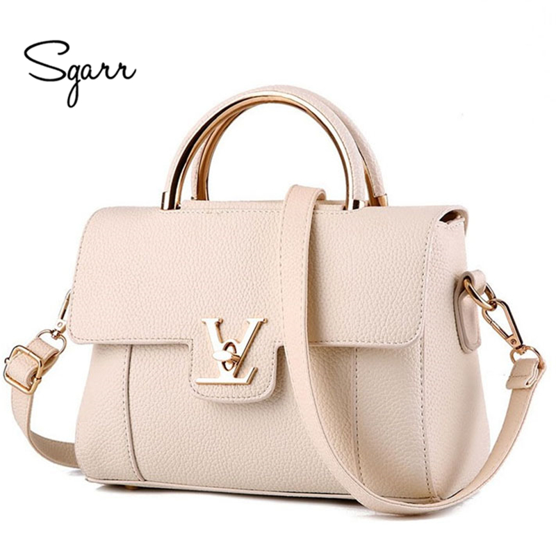 SGARR Brand Beige Women Shoulder Bag Teenager Girls Small Lady New Luxury Female Handbag Purse 2018 New Leather Messenger Bags jooz brand luxury belts solid pu leather women handbag 3 pcs composite bags set female shoulder crossbody bag lady purse clutch