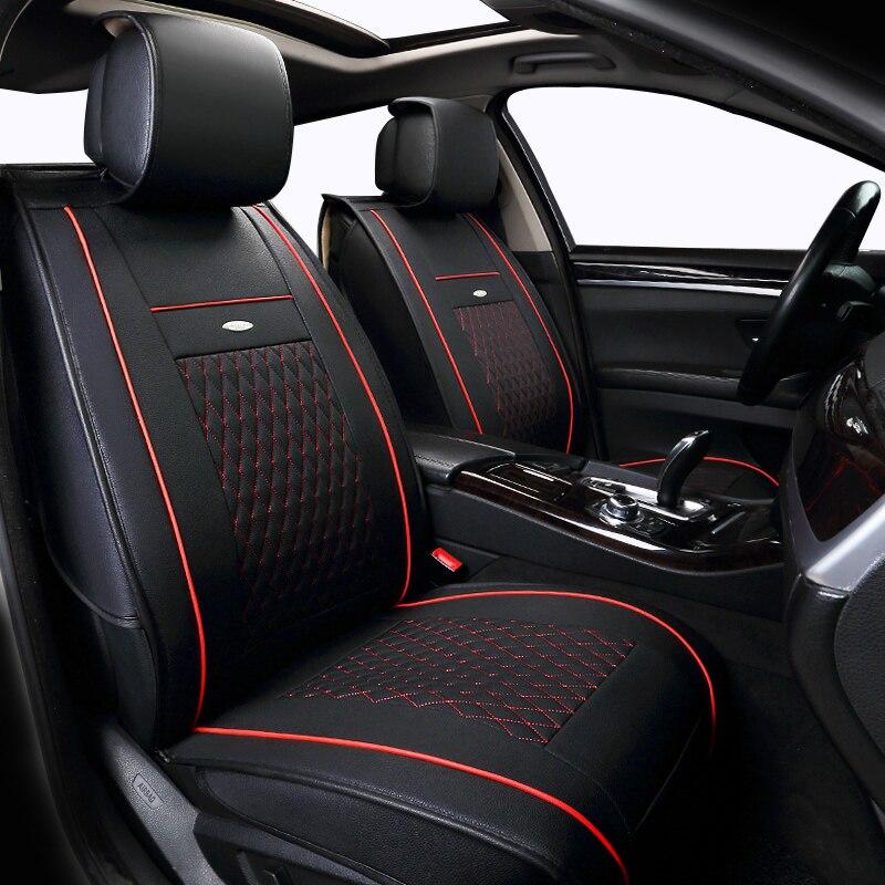 Leather Car Seat Cover Set For Bmw E30 E34 E36 E39 E46 E60