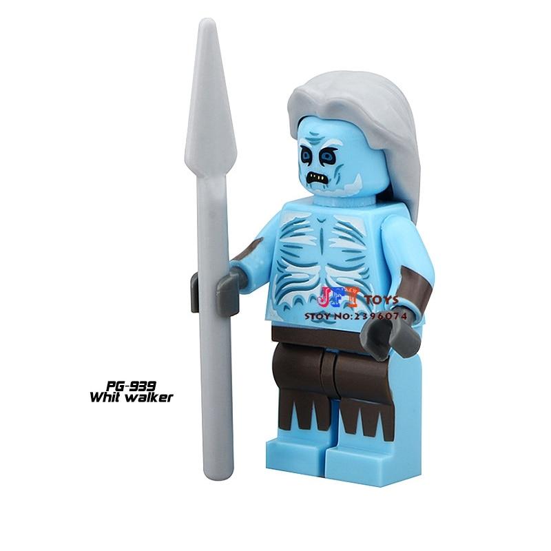50pcs starwars Game of Thrones White Walker building blocks bricks friends for girl boy kids children toys brinquedos menina