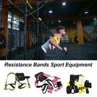 Crossfit Equipment Strength Training Belt Resistance Bands Hanging belt Gym workout Fitness Suspension Exercise Pull rope straps