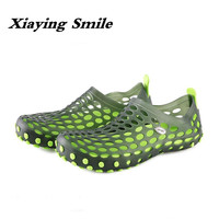 2017 Hot Sale Summer Classic Men Outdoor Casual Flats Sandals Cheap Top Quality Non Slip Slippers