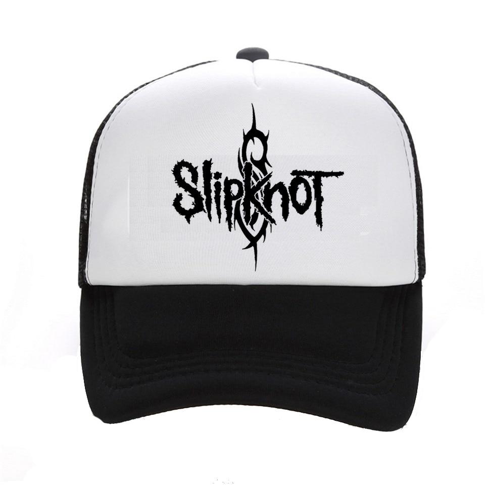 5784bf945936c Style d'été mode hommes casquette noir Snapback chapeau hommes coton Rock  Band casquette de