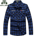 New 2017 Autumn Spring Mens Slim Cotton Casual Colorful Plaid Stylish Dress Long Sleeve Shirts Dress Plus Size M- 4XL CLOTHES