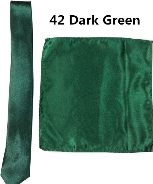 42 _  39 Colours Man Polyester Silk Pocket Sq. Tie Go well with Set Hanky Groom Wedding ceremony Fits Enterprise Handkerchief Necktie ZY186117 HTB1x5mRyKGSBuNjSspbq6AiipXag