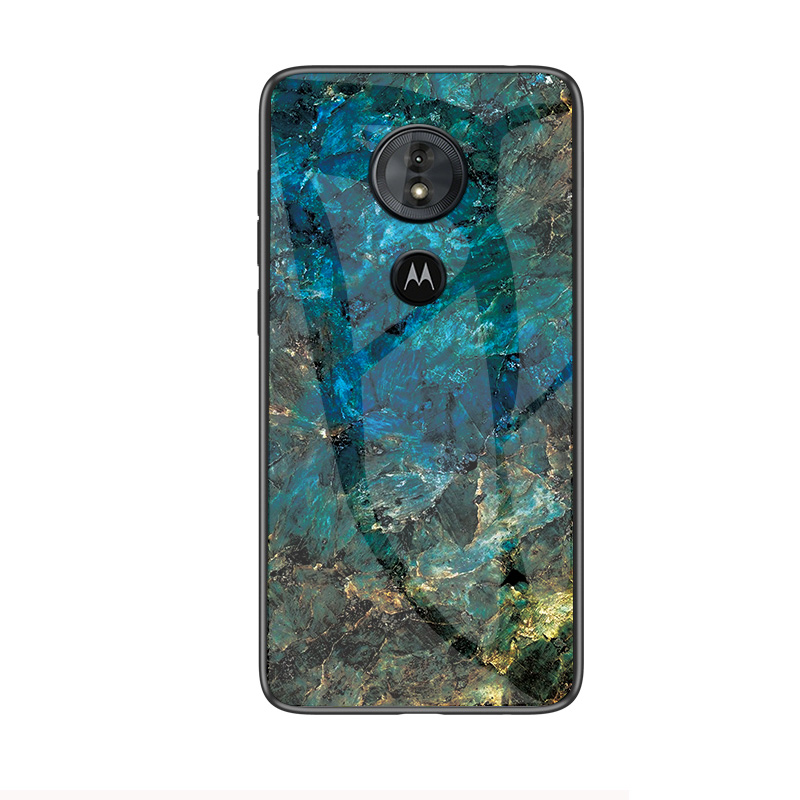 Image 5 - Luxury Marble Tempered Glass Phone Case For MOTO G6 G5S Plus Hard Case For Motorola G6 Play G5S Plus Cover Coque Silicone Capa-in Fitted Cases from Cellphones & Telecommunications