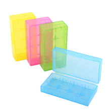 2pcs 18650 Batteries/4pcs 16340 Batteries Storage Box, Plastic Battery