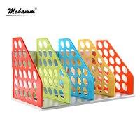 Document Trays Desk Organizer Office Shelves Filing Trays A4 Holder Racks File Plastic