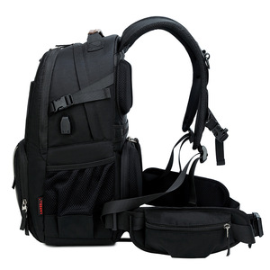 Image 4 - CAREELL  C3058 DSLR Camera Bag Backpack Universal Large Capacity Travel Camera Backpack For Canon/Nikon Camera 15.6 inch laptop
