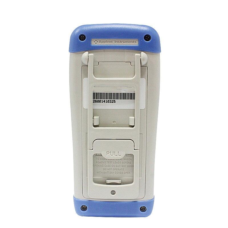 Nouveau haute qualité précision LCR mètre multimètre AT825 10 KHz L C R Q D Z Theta ESR testeur LCD écran tactile USB testeur de AC100-240V - 2