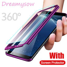 360 Full Protective Phone Case For Samsung Galaxy S10 5G S10E S10 S9 Plus A40 A50 A70 M10 M20 A10 A30 A6 A8 Plus A9 A7 2018 Case(China)