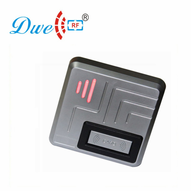DWE CC RF RFID reader 9V to 24V wide voltage waterproof IP68 metal for access control system 006ADWE CC RF RFID reader 9V to 24V wide voltage waterproof IP68 metal for access control system 006A