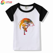 LYTLM Big Kid Clothes Boys Brazil Capoeira T Shirt Teenage Girs Clothing Styles Baby Boy T Shirts Bobo Choses Kids Girls Shirts(China)