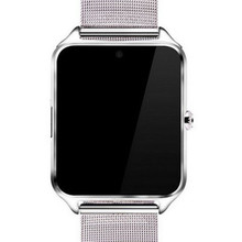 2017 android металла наручные smartwatch светодиодный дисплей 3 г sim-карты беспроводной связи bluetooth smart watch карты телефон handsfree камеры носимых