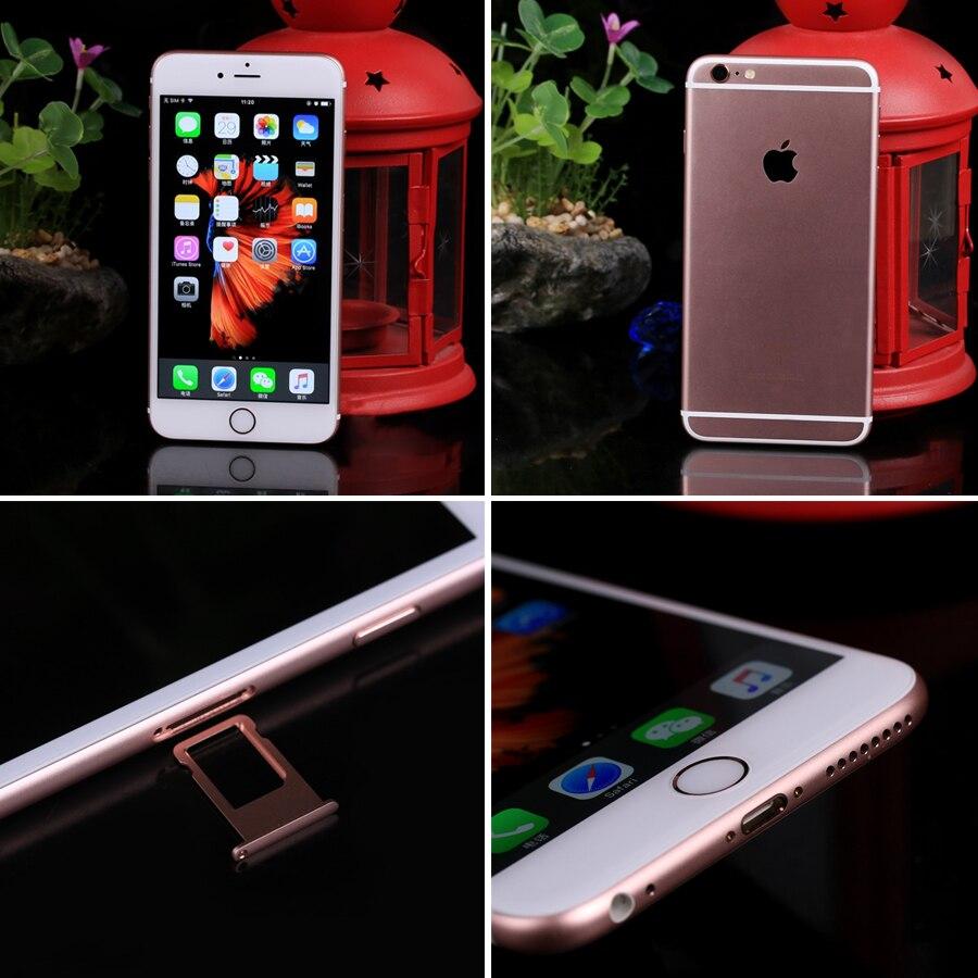 """עבור apple Apple iPhone 6S פלוס iOS Dual Core 2GB RAM 16/64 / 128GB ROM 5.5"""" טביעת אצבע 12.0MP מצלמה עבור LTE נייד טלפון iPhone 6S (5)"""